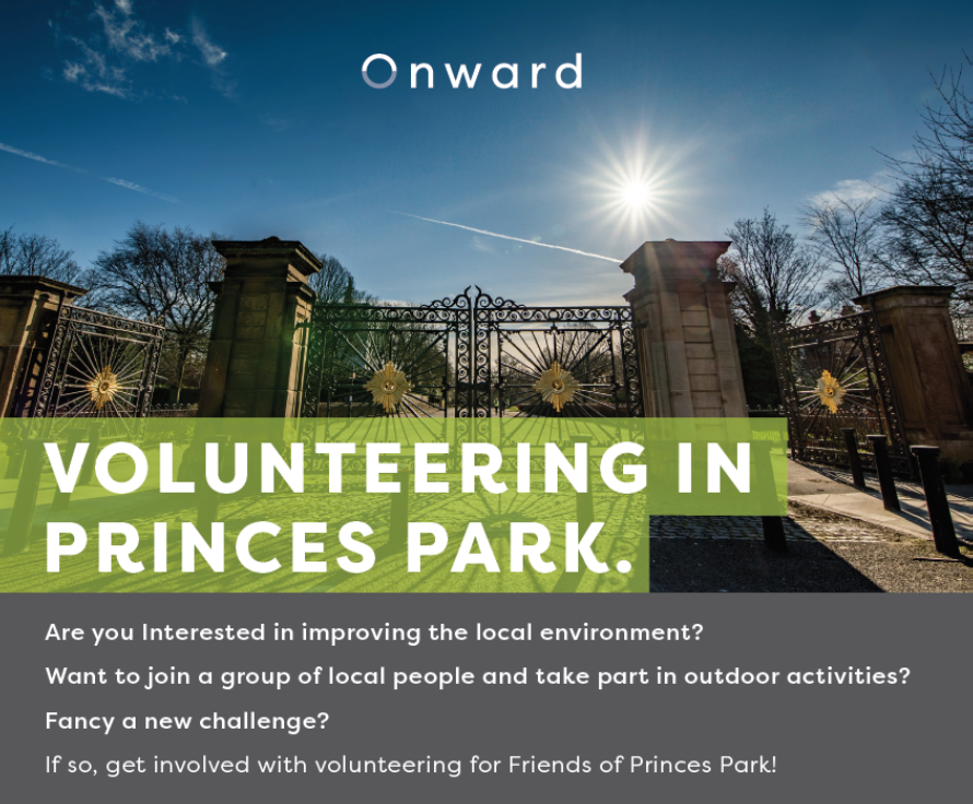 Volunteering in Princes Park!