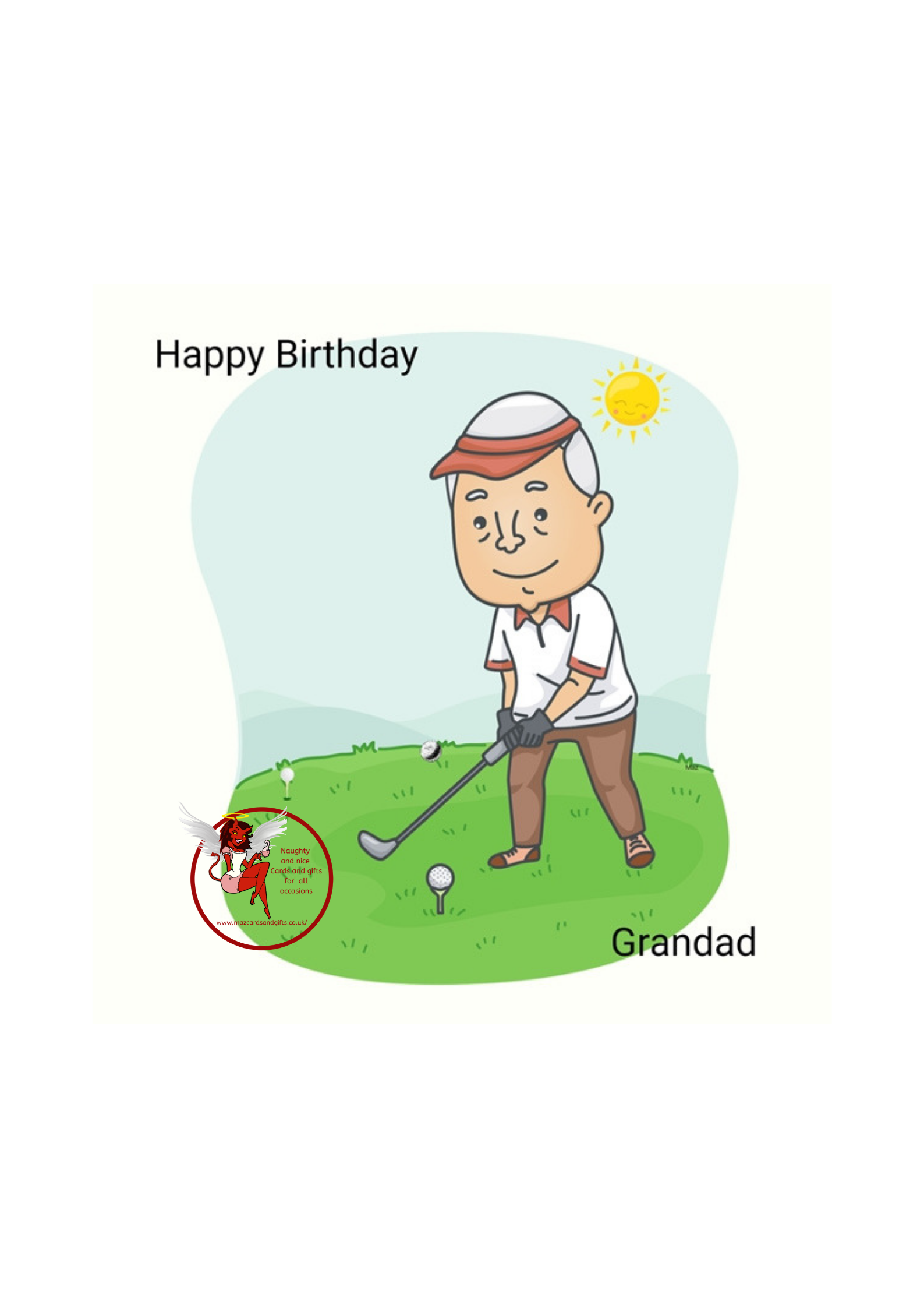 Birthday - Grandad - Order No 066