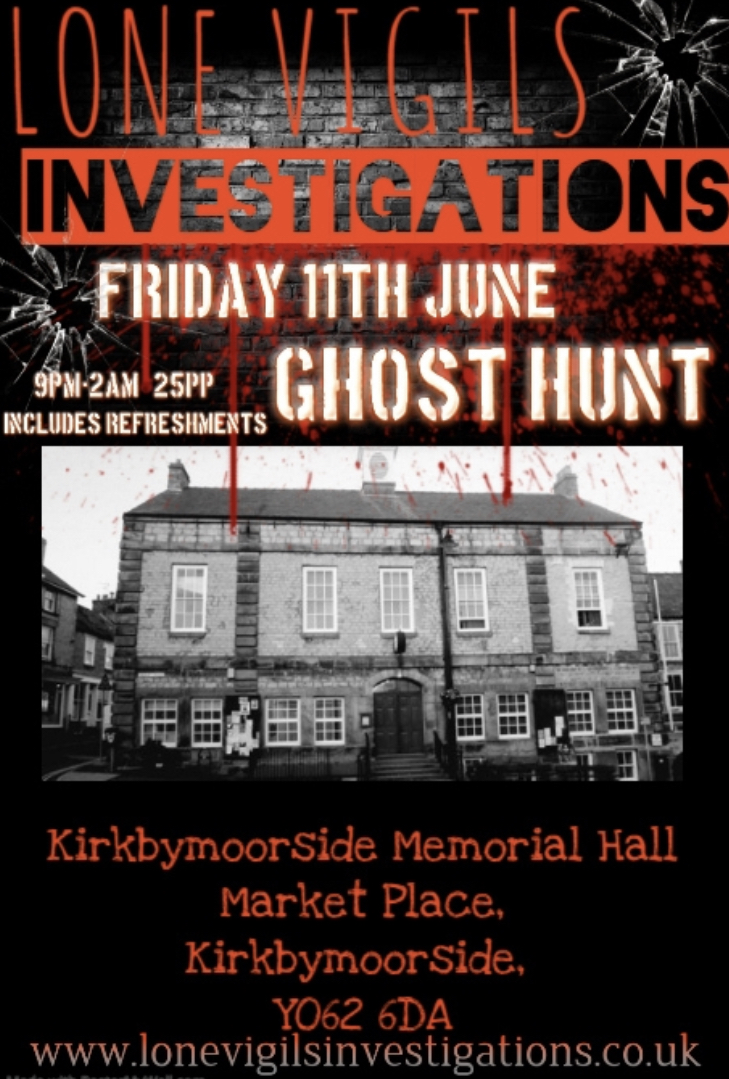 Kirkbymoorside Memorial Hall Friday 11th June 2021