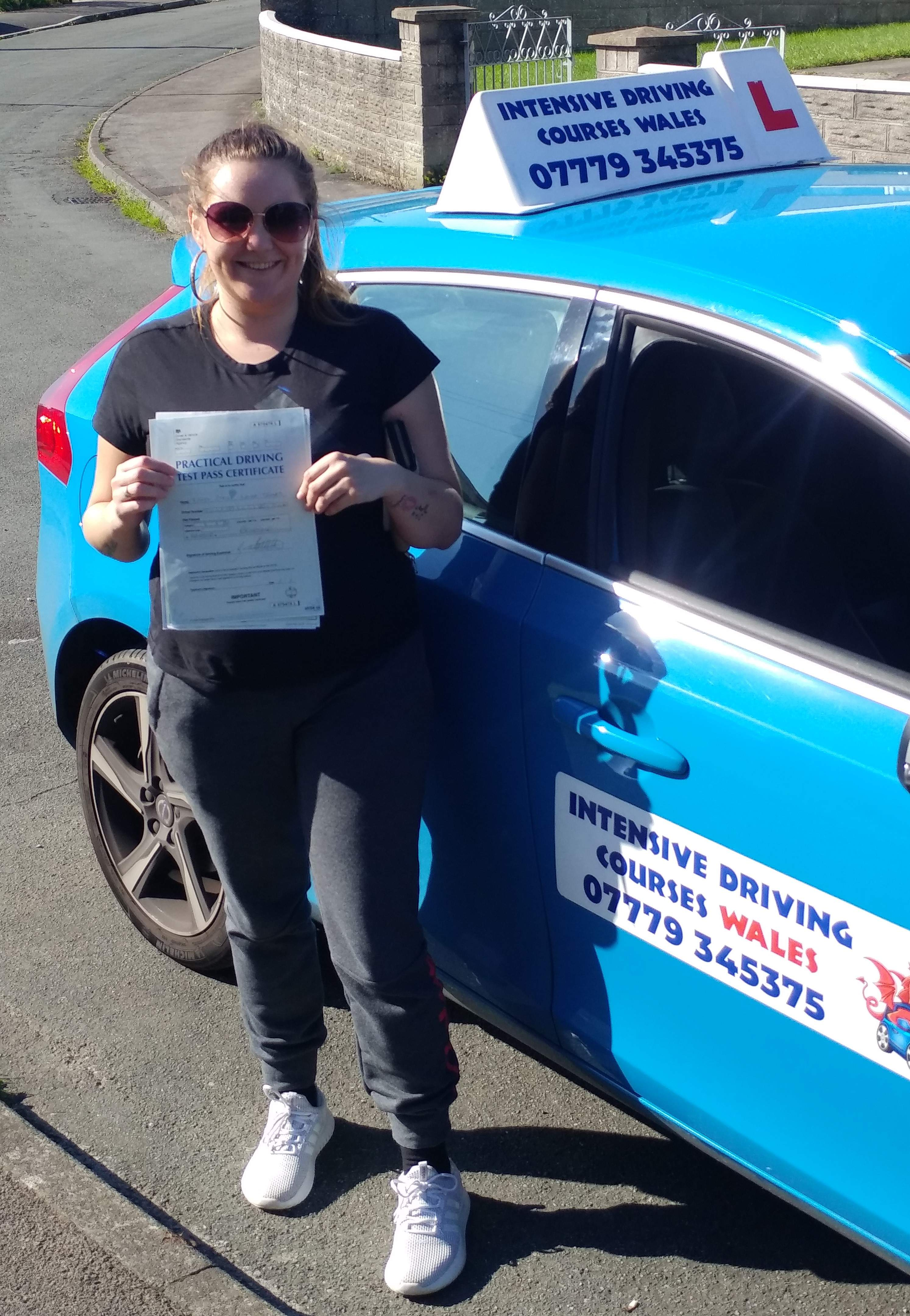Pass your driving test in one week with an intensive driving course in bridgend