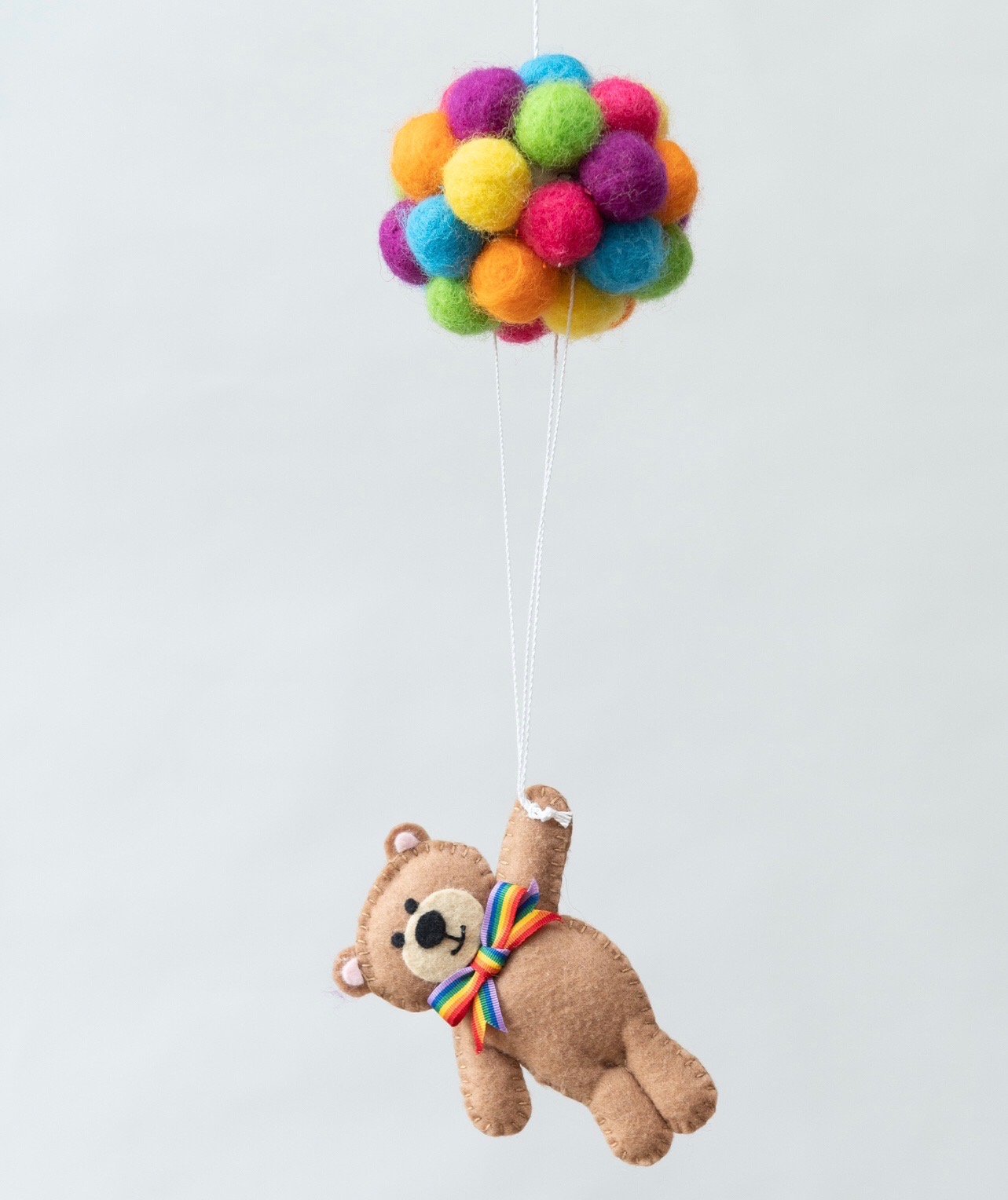 Children's Gift - Balloons & Bear Mobile