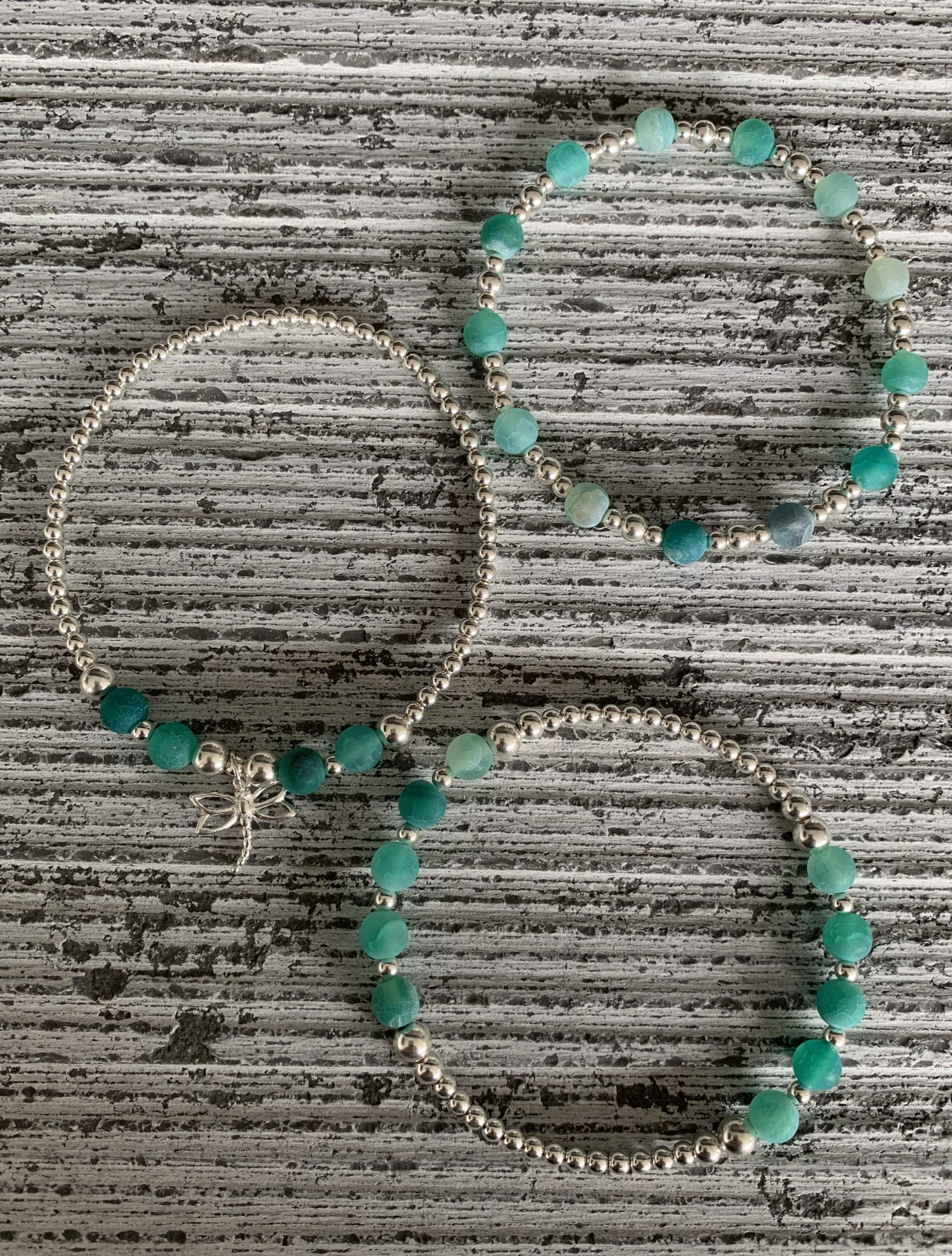 Frosted Green Dual Aspect Bracelet