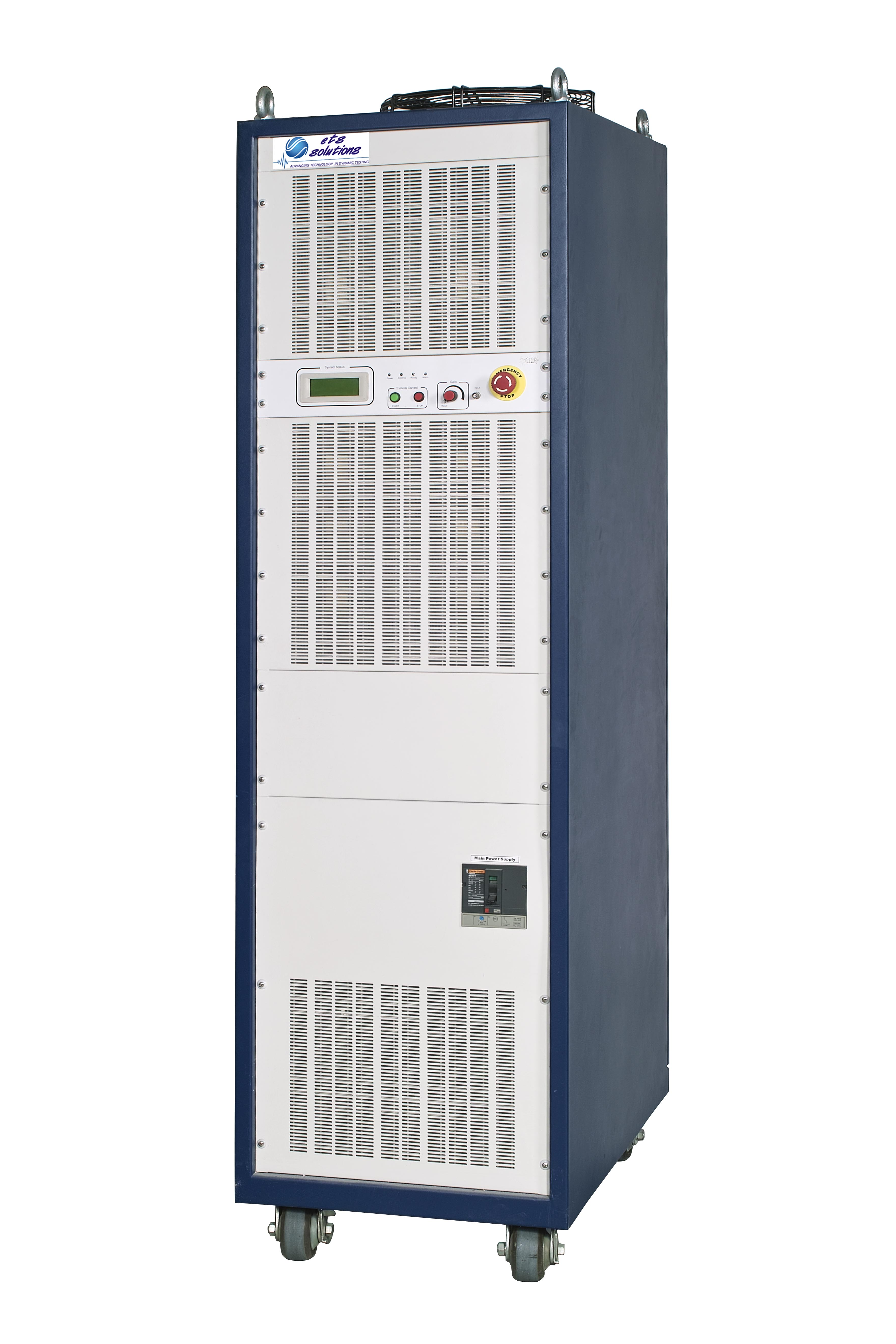 Cabinets: 1, Max Power Output: 49kVA to 84kVA, Max Output Voltage: 120V, Max Output Current: 700A