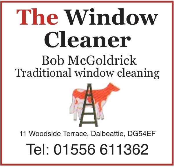 Bob McGoldrick, window cleaner
