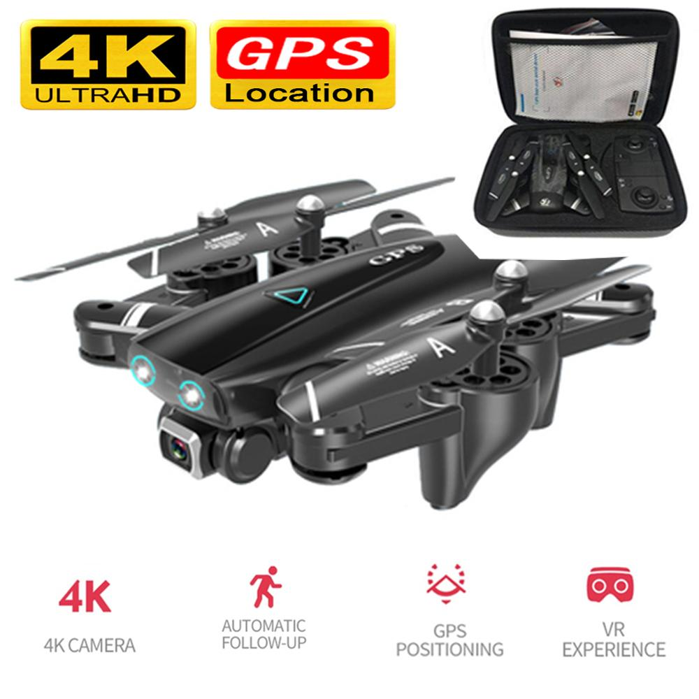 Foldable Drone With 4k Camera GPS RC Helicopter