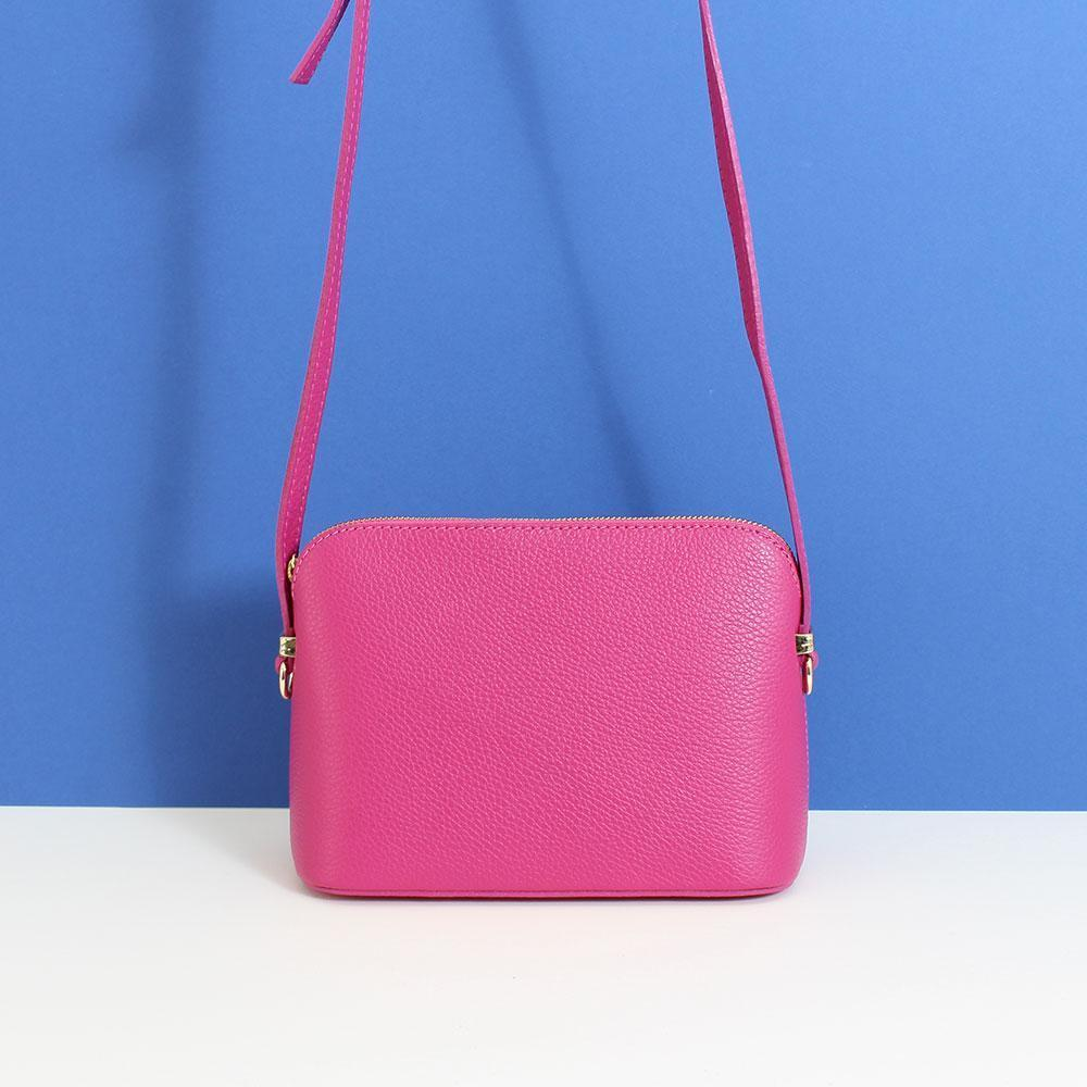 Leather Cross Body Handbag in a Variety of Colours