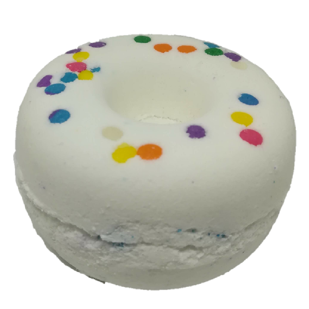 Crispy Creme Popping Candy Bathbomb. Vegan, vegetarian