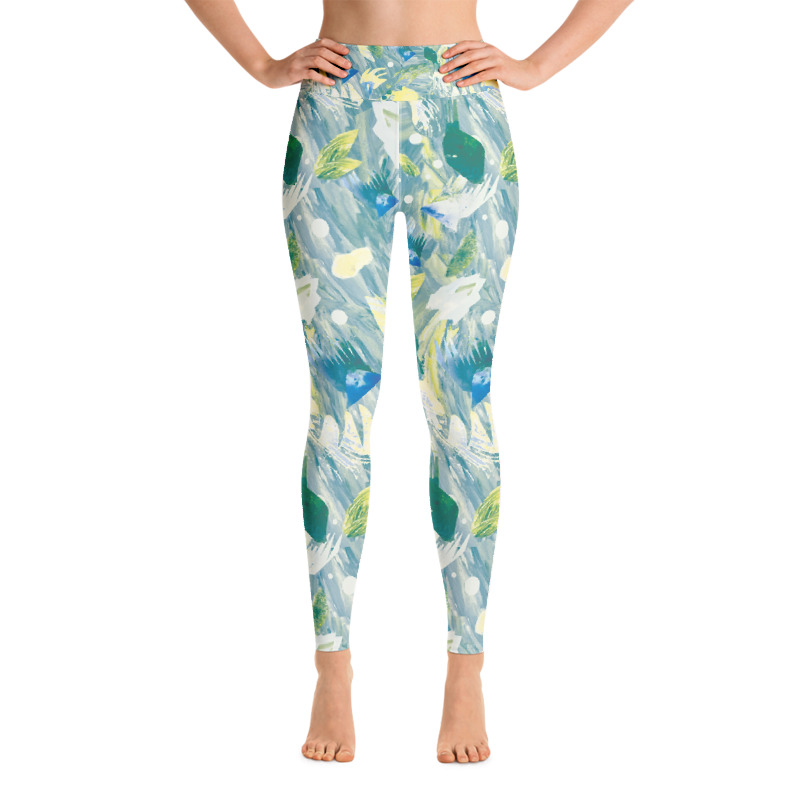 'Winter Fruits' Yoga Leggings