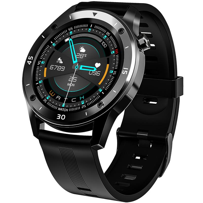 Multi Personalized Dial, GPS Motion Track, Full Circle Touchscreen Smart Watch