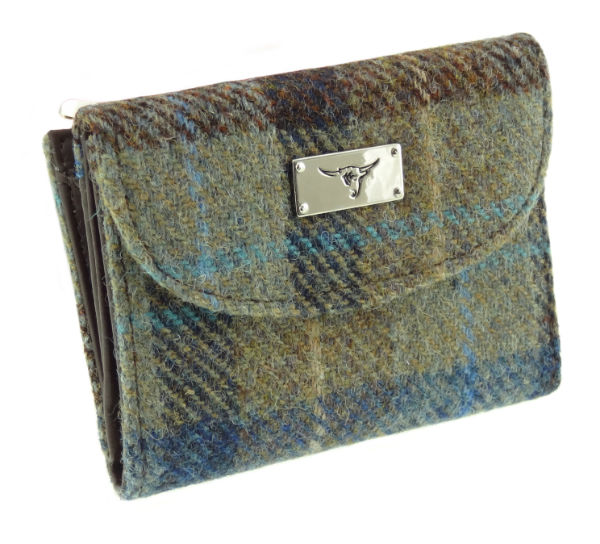 Harris Tweed 'Jura' Purse in Colour 58 GA016