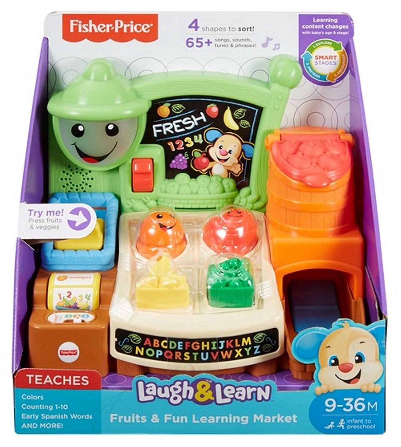 Fisher Price Smart Stages Market - French & English
