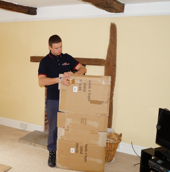 WHG Removals Furniture Wrapping