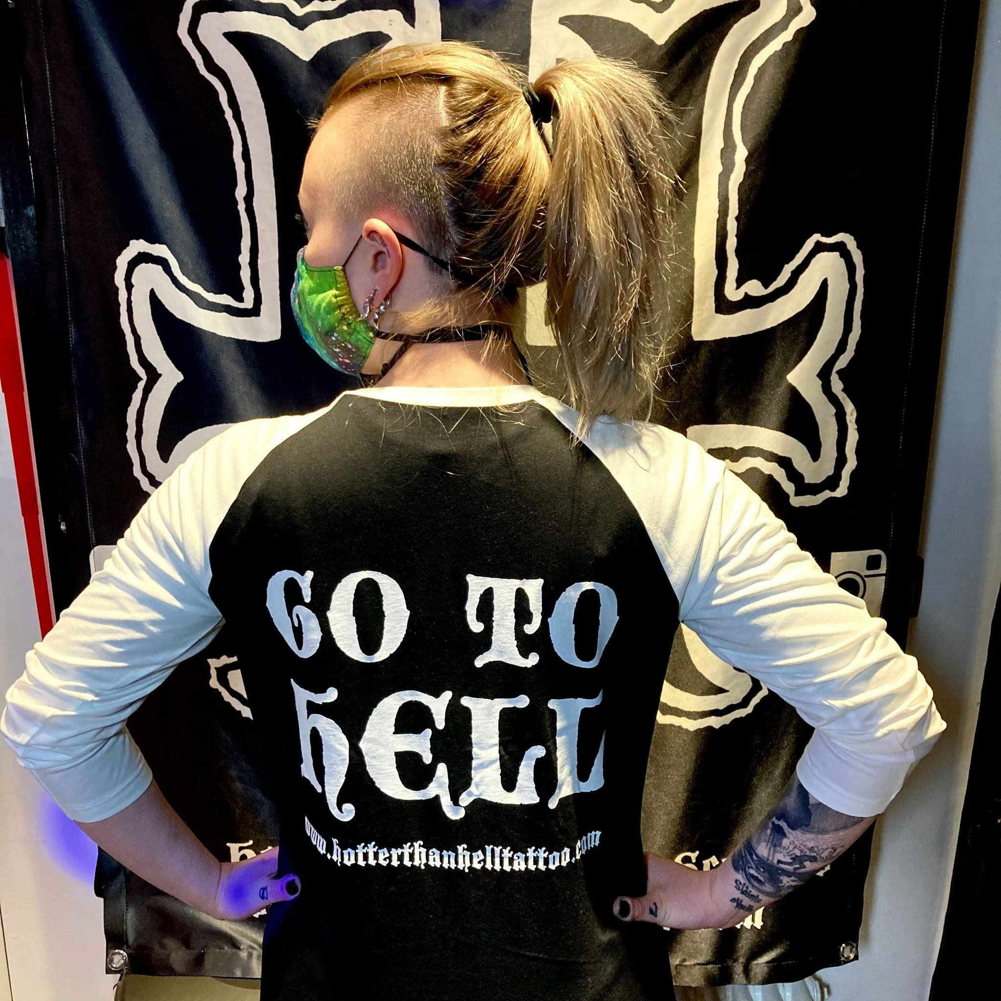 HTHT 'GO TO HELL' Baseball Shirt