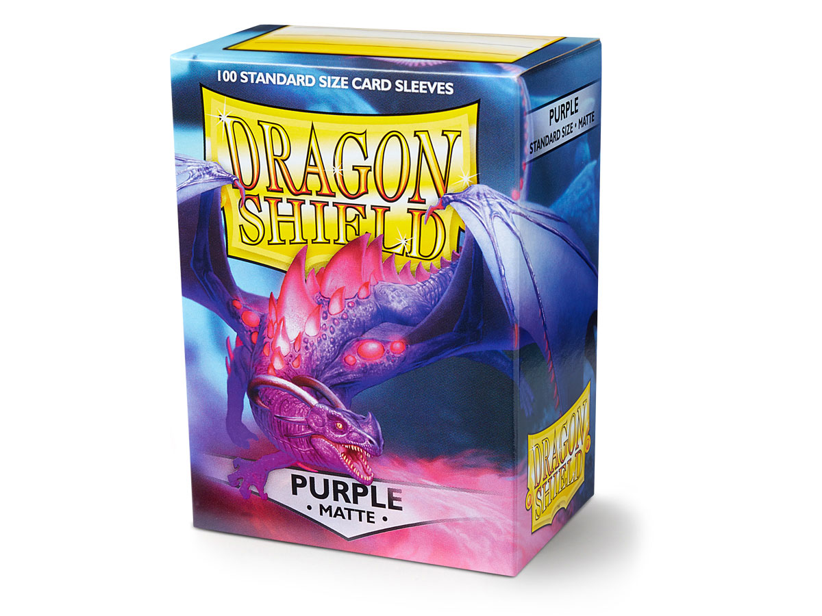 Dragon Shield Purple Sleeves (100 ct.)