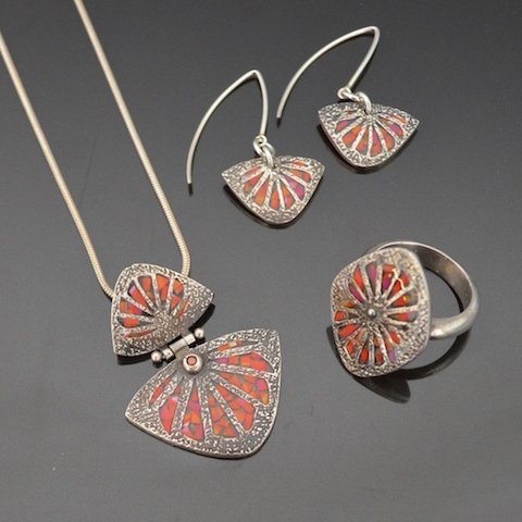 Silver Clay Jewellery by Tracey Spurgin of Craftworx Jewellery Workshops