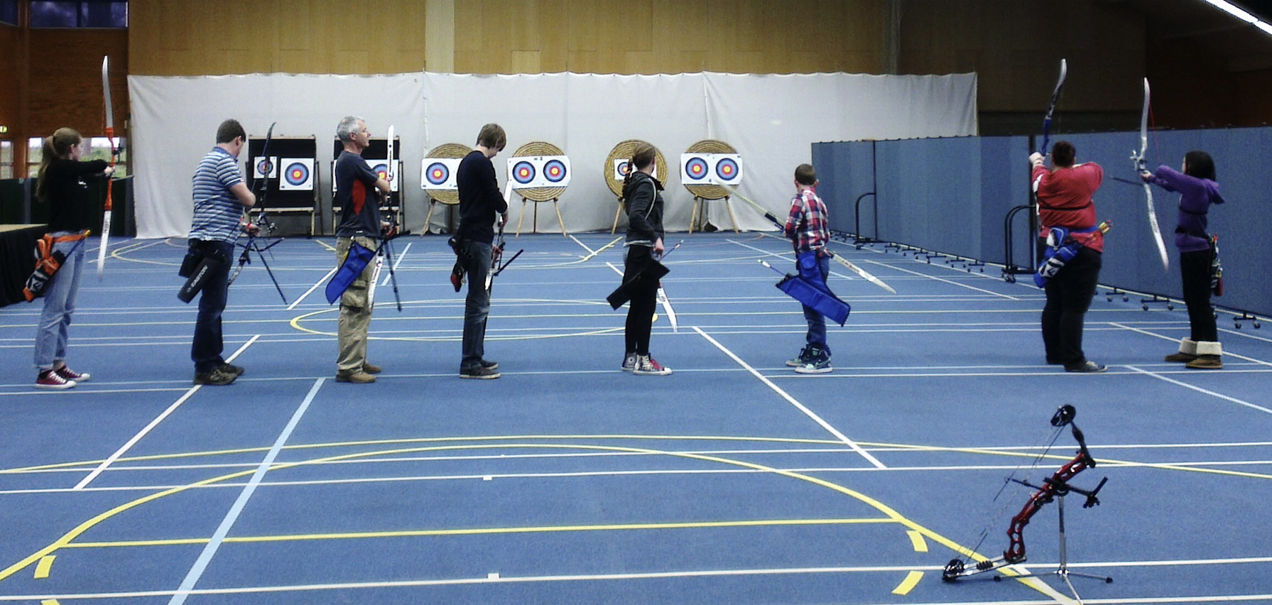 Indoor shooting throughout winter