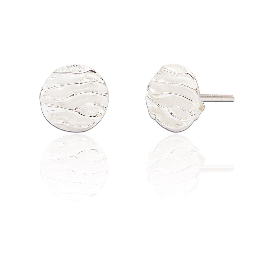 Silver Studs with Twin Finish