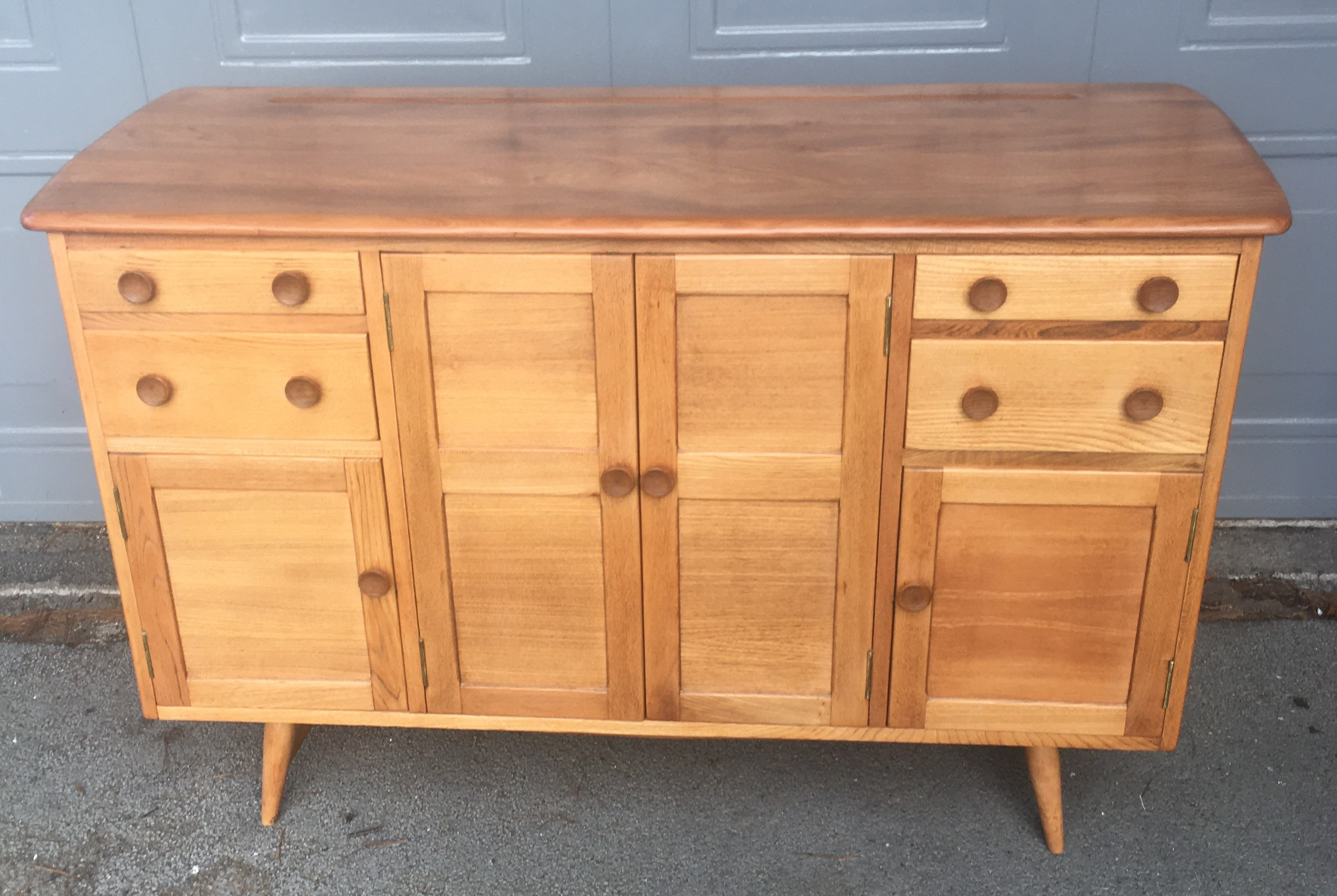 Model 328 Beech and Elm Ercol Sideboard 1956