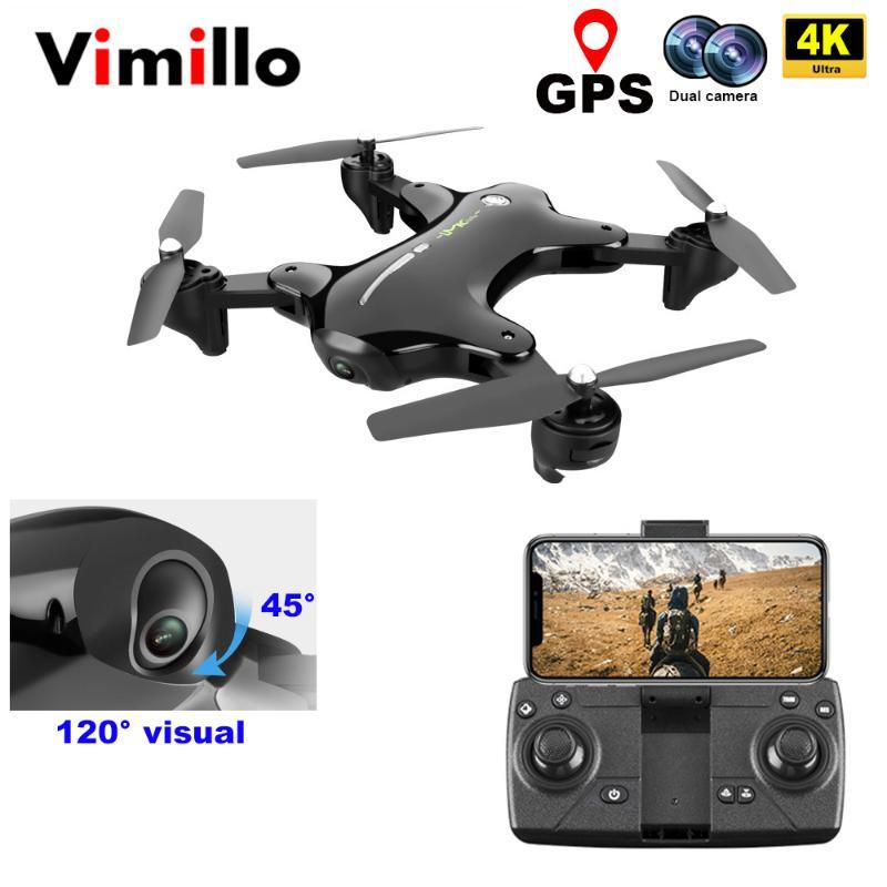 Vimillo GPS Drone With 4K Wide Angle Camera