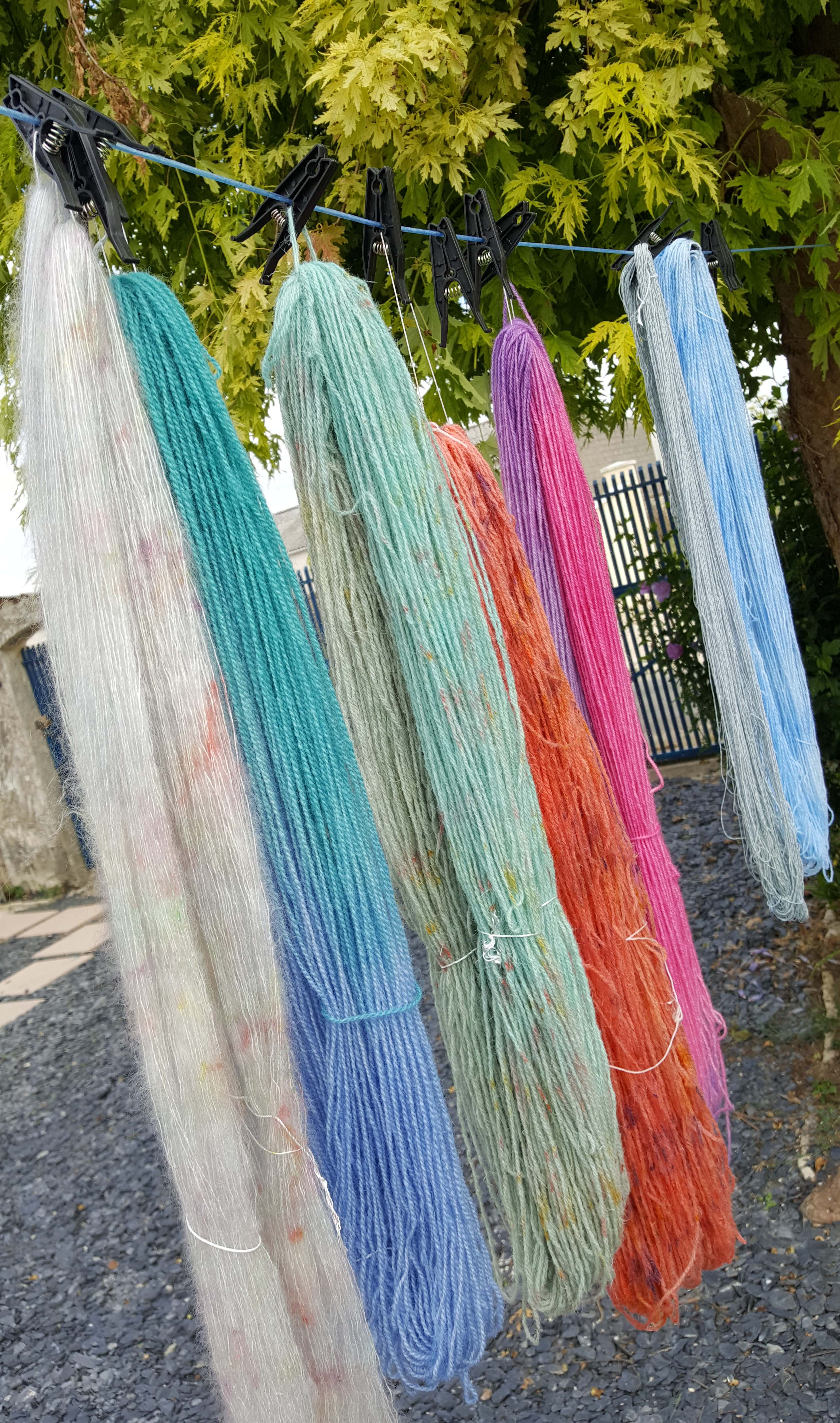 Yarn dyeing
