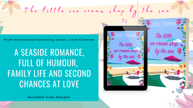 Celebrating Lizzie Chantree's latest romance published today