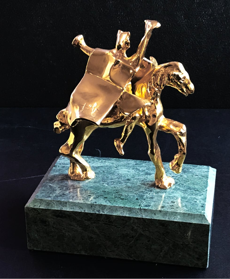 Salvador Dali - Trajan on horseback