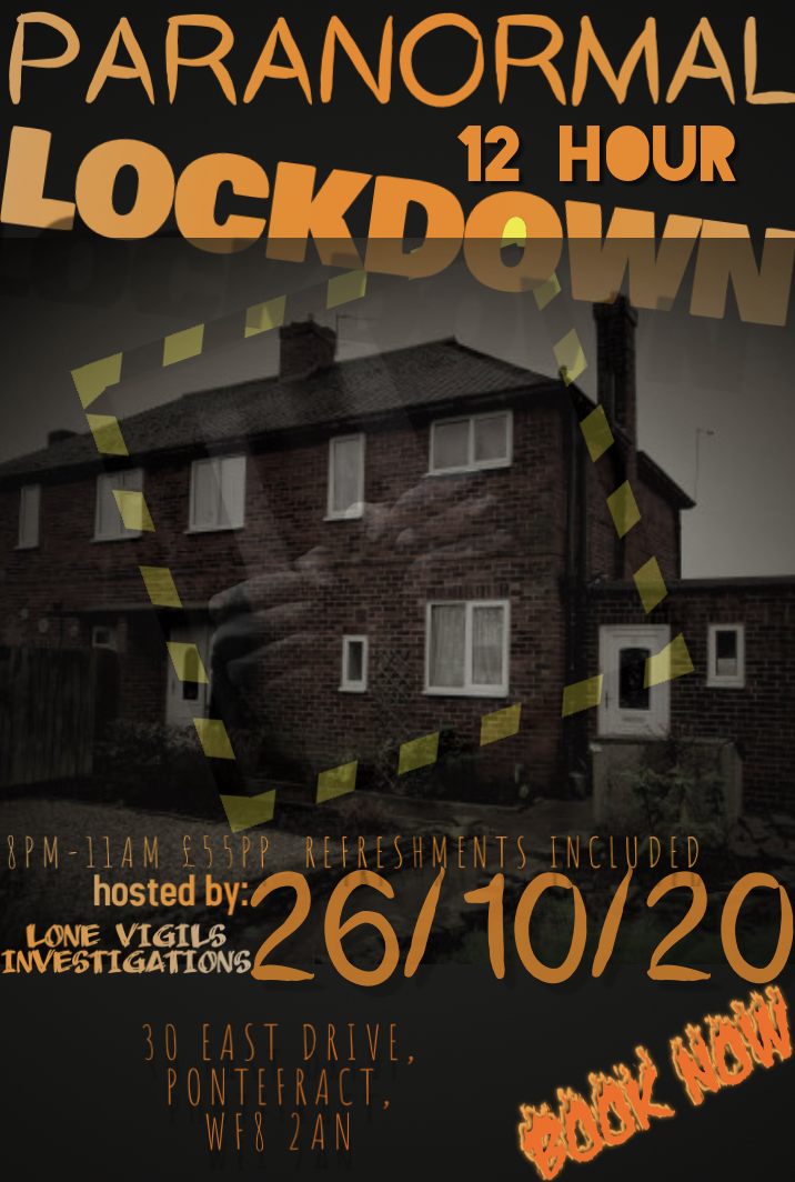 30 East Drive: 15 hour Lockdown, 26/10/2020 8pm-11am