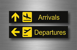 airport transfer arrival and departure board