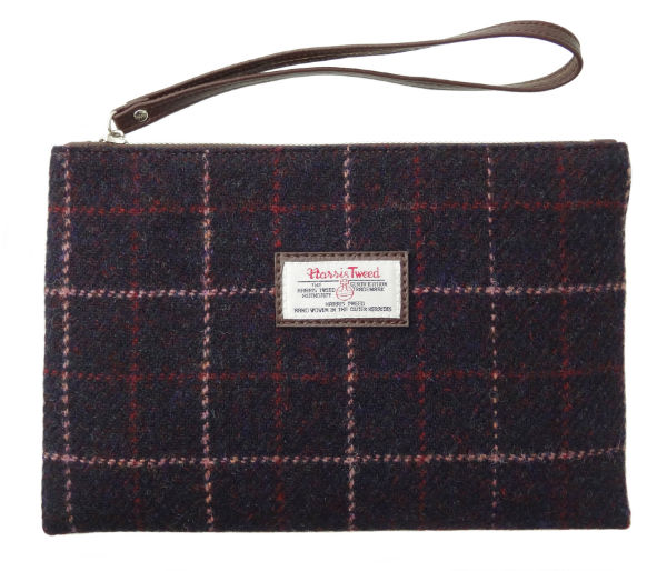 Harris Tweed Pouch in Colour 39 GA010