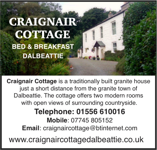 Craignair Cottage bed and breakfast link
