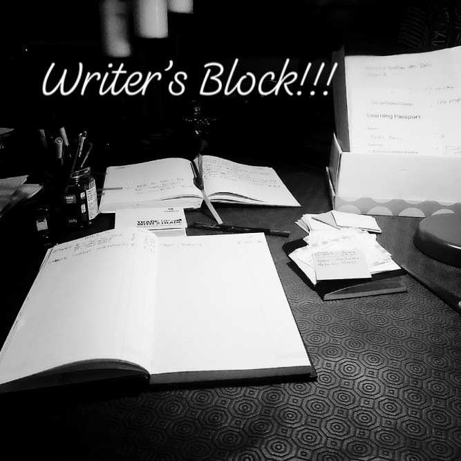 How to overcome writers block.