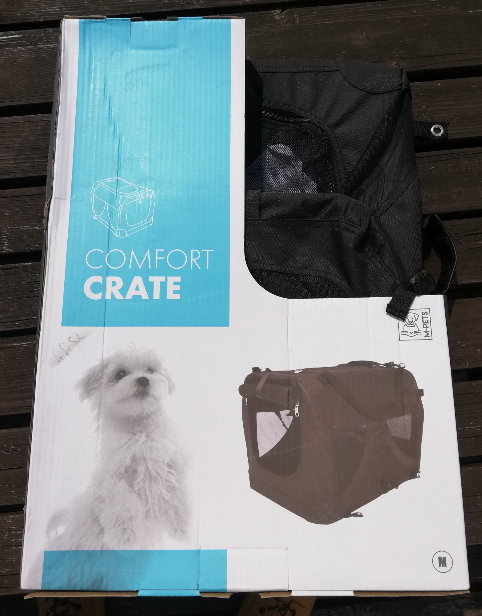 Pet comfortable crate