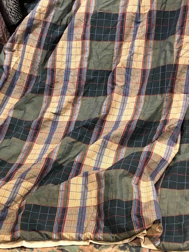 Nice Tartan Check Pinch Pleated Curtains W320 D220