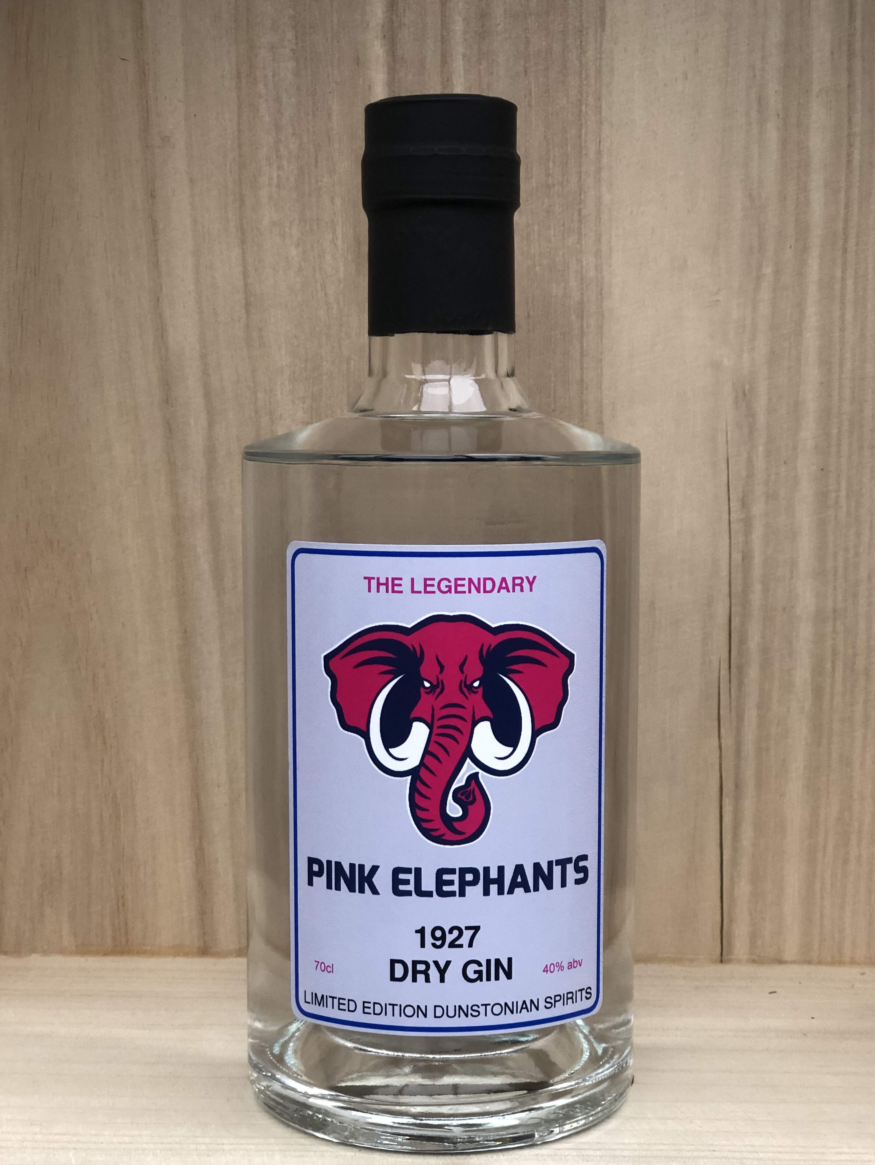 Dunstonian 'Pink Elephants' 1927 Dry Gin