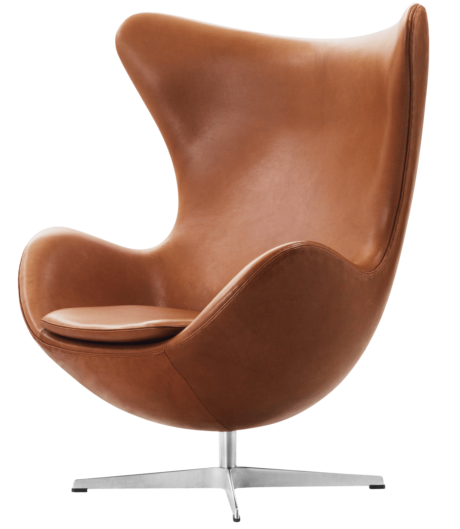Egg elegance walnut lounge chair by Arne Jacobsenpng