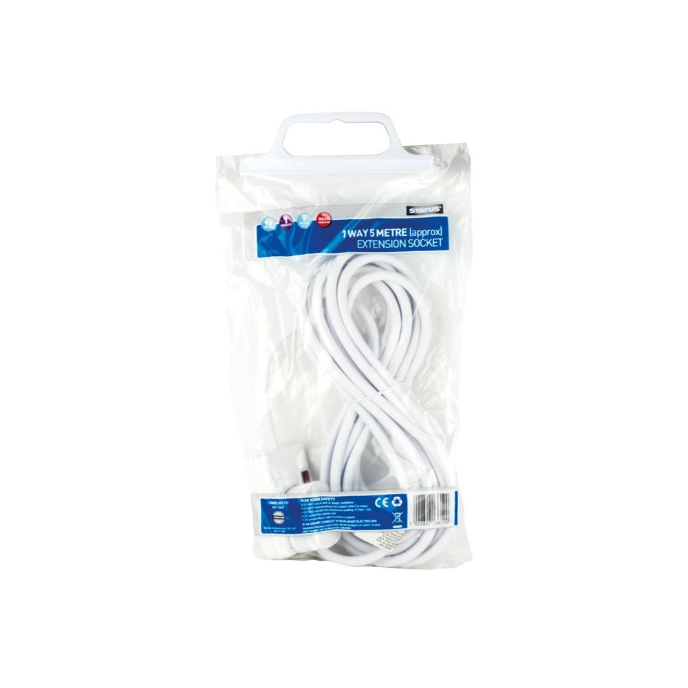 Status 5M 1 Way 13 Amp Extension Lead