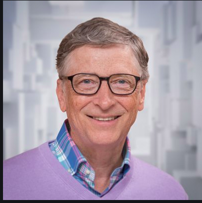 BILL GATES CALLS FOR NATIONAL TRACKING SYSTEM