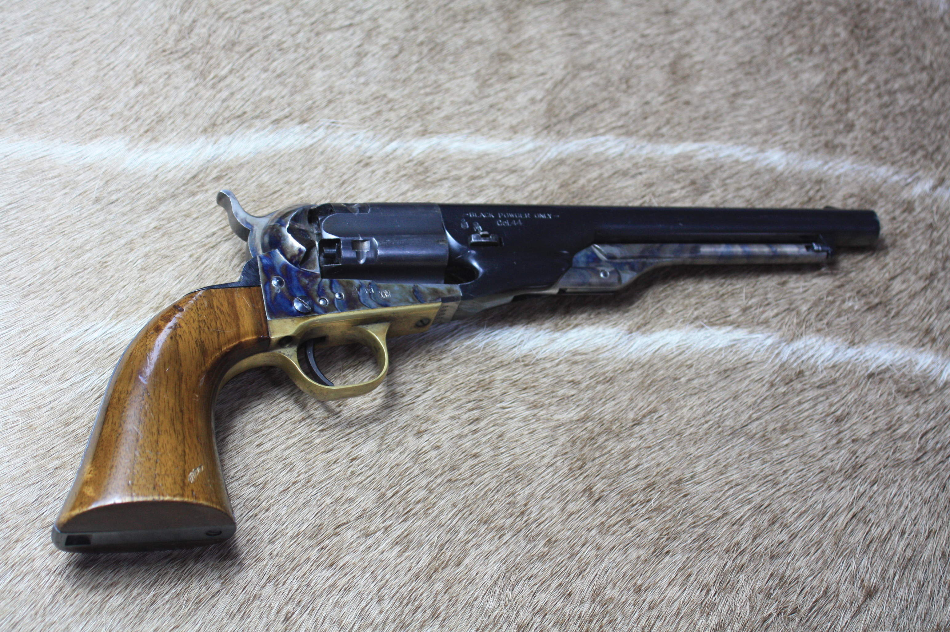 A REPRODUCTION COLT 1860 ARMY .44