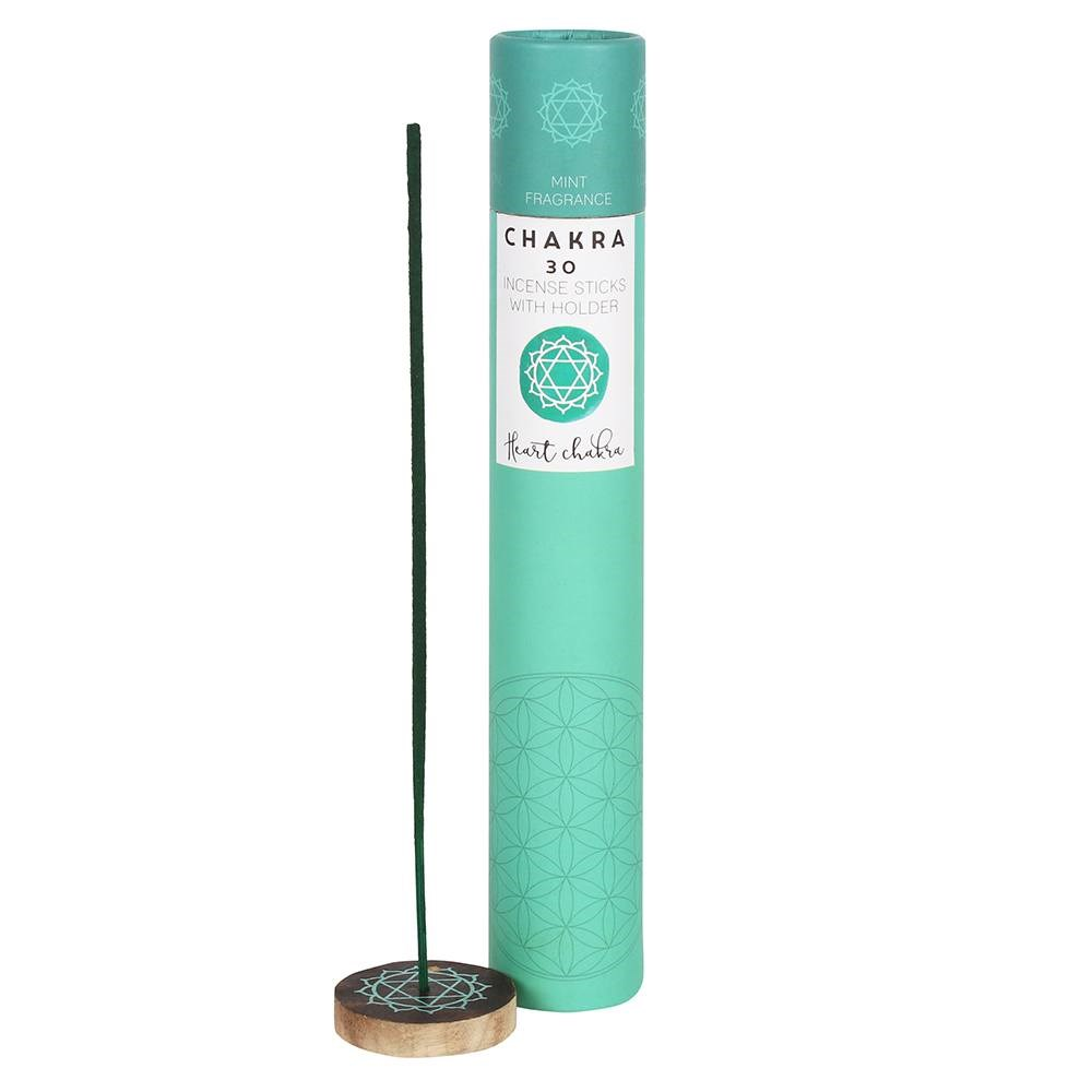 MINT HEART CHAKRA INCENSE STICKS
