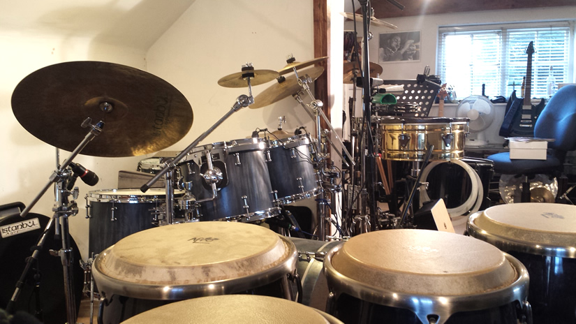Live & Studio Drum Kit & Percussion  Drum Tuition to the