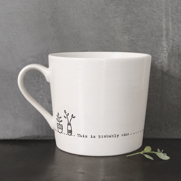 Wobbly Mug - This is Probably Wine