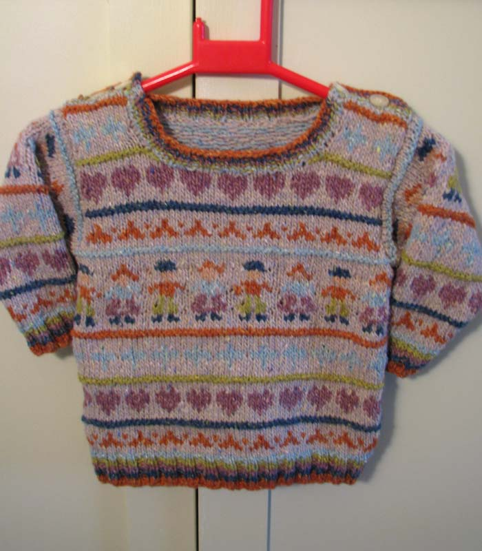 Folk Fairisle - knitting pattern
