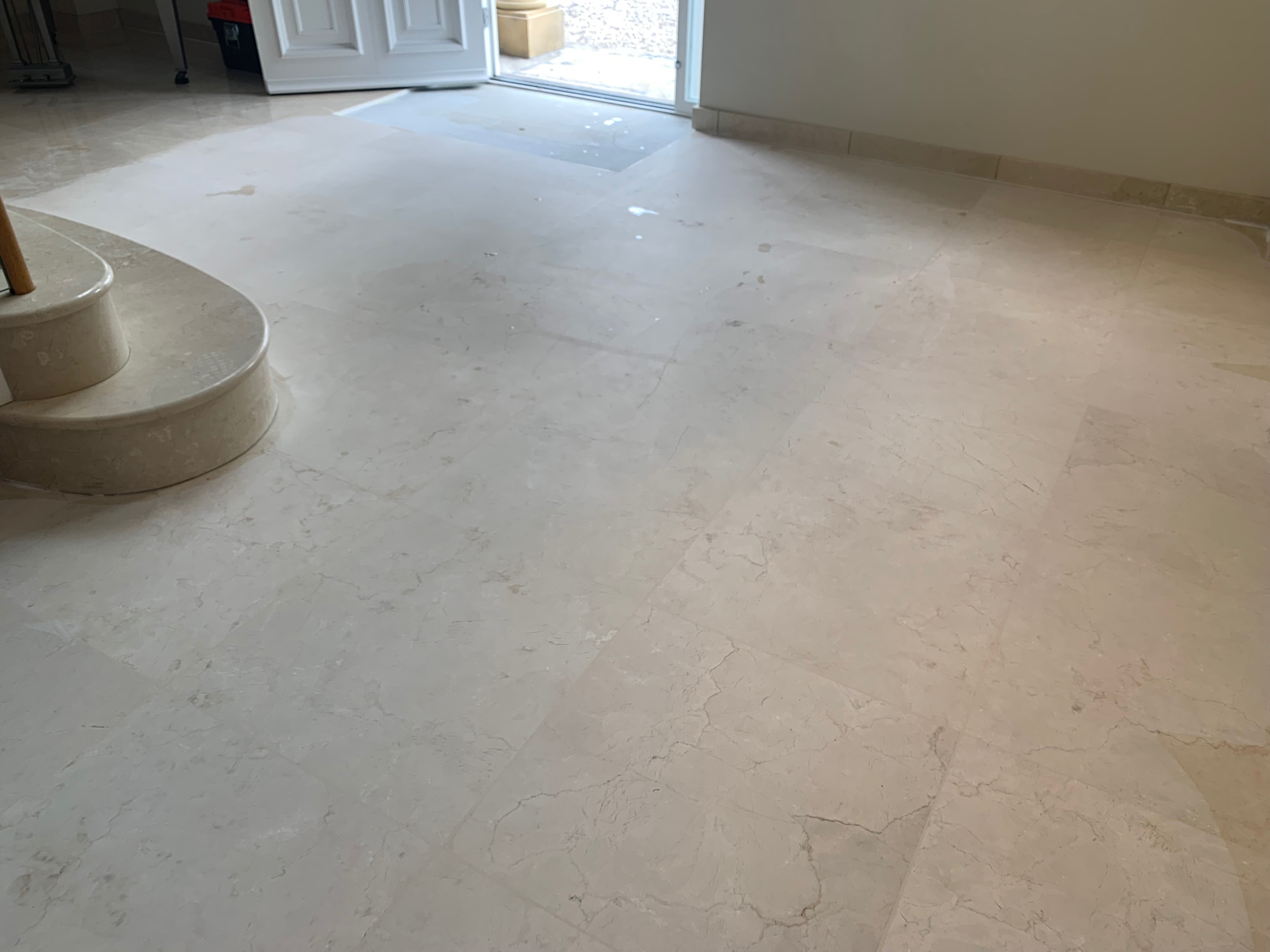 marble grinding