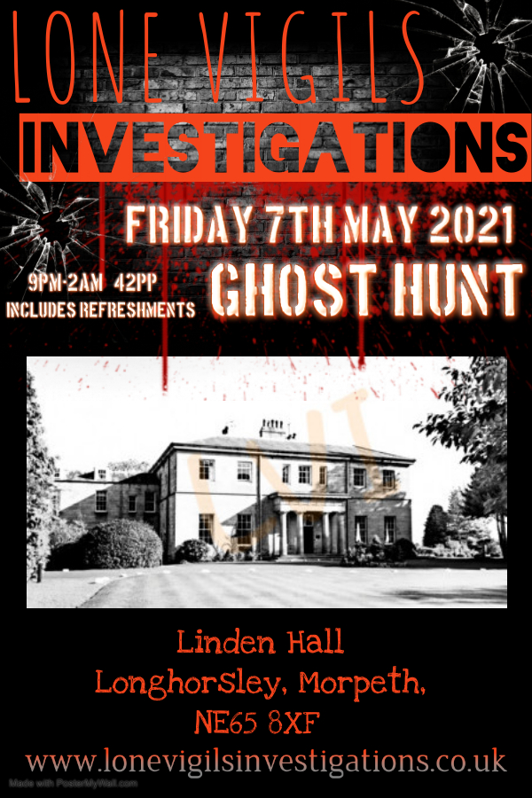 SOLD OUT: Linden Hall Friday 7th May 2021 9pm-2am