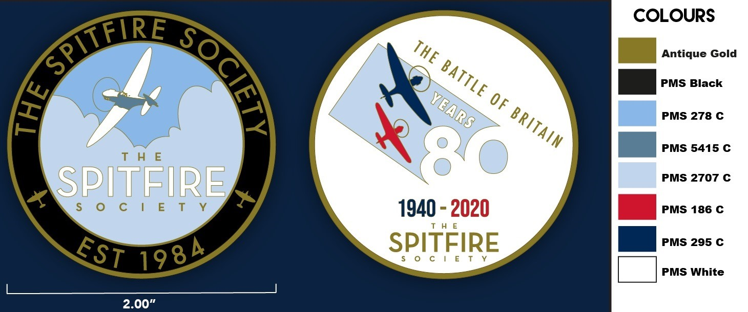 The Battle of Britain 80th Anniversary commemorative coin