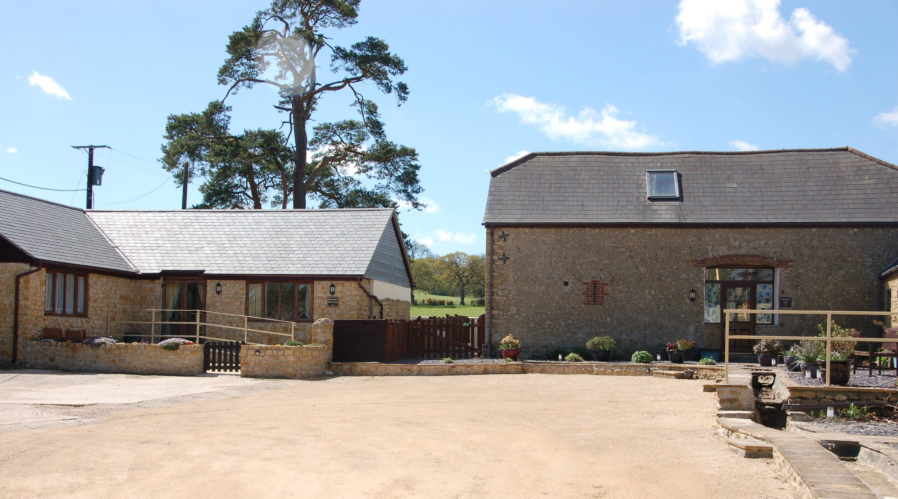 Harvest Cottage sleeps 4 and Threshers Barn sleeps 6