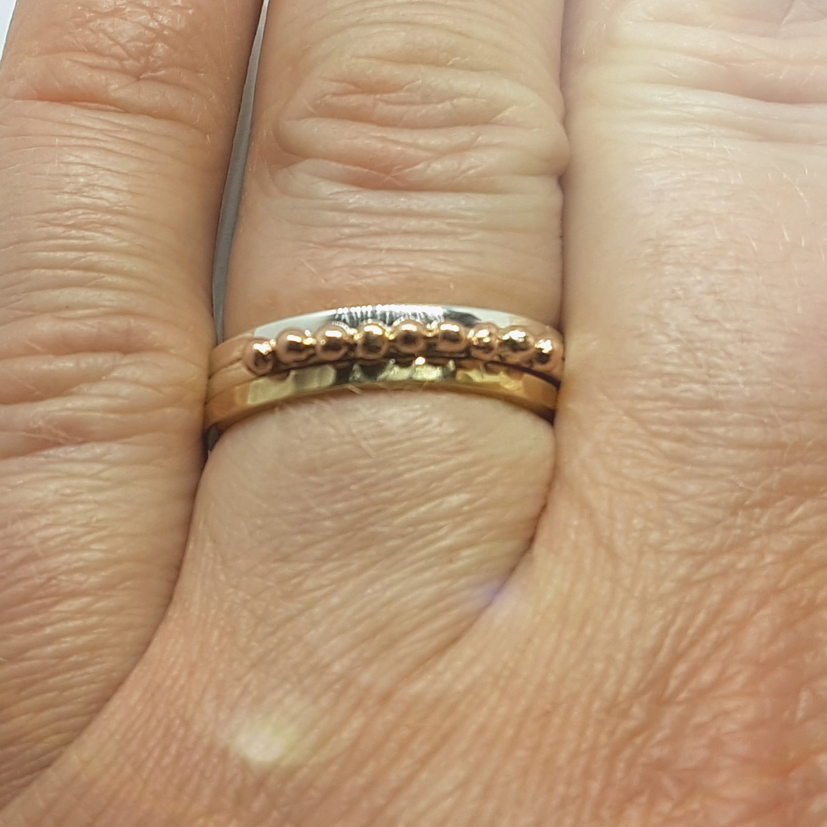 9ct Gold Stacking Ring