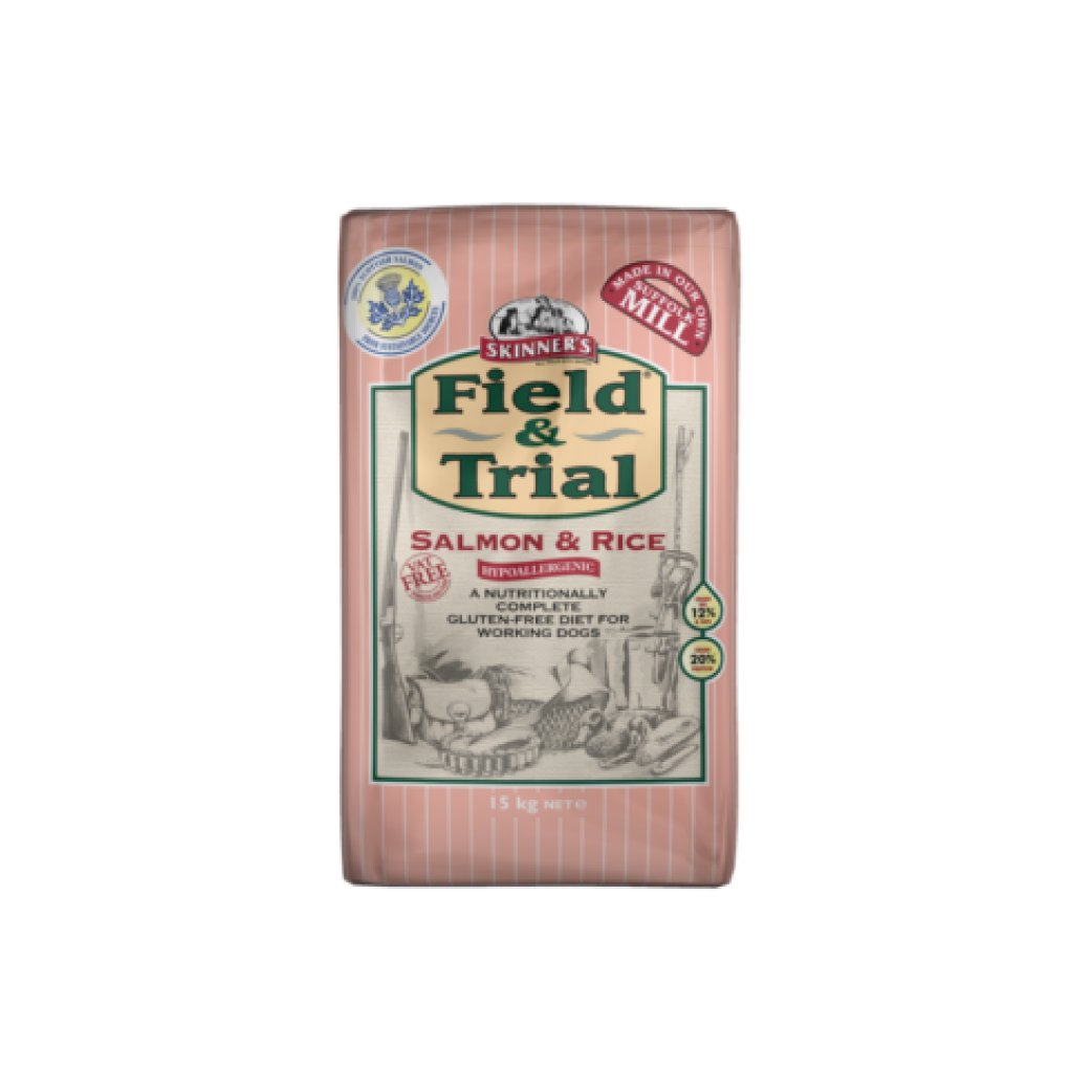 Skinners Field and Trial Salmon and Rice (Hypoallergenic)