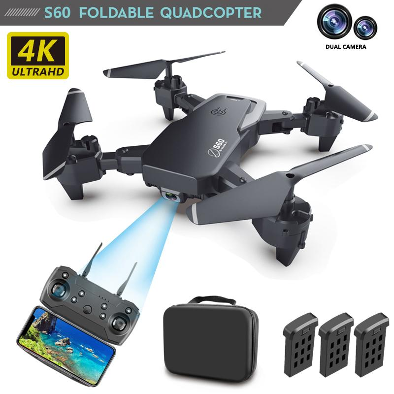 5G Smart Positioning GPS Drone 4K Aerial Photography Folding Drone HD Dual Camera Long Endurance Quadcopter