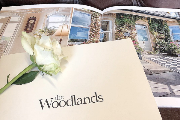 The Woodlands Bespoke Brochure Design that was on the Market with On The Move Property Boutique.